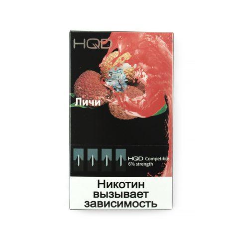 Сменный Картридж совместимый с JUUL HQD - Личи х4, 60 мг