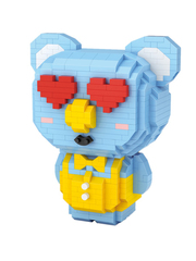 Конструктор LOZ Влюбленная коала 700 деталей NO. 9238 Koala in love iBlockFun Series