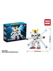 Конструктор Wisehawk Кроссбон Гандам 458 деталей NO. 2358 Сrossbone Gundam Moan mini block