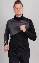 Утеплённая лыжная куртка Nordski Premium Black-Graphite
