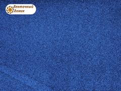 Фоамиран с блестками синий 2мм