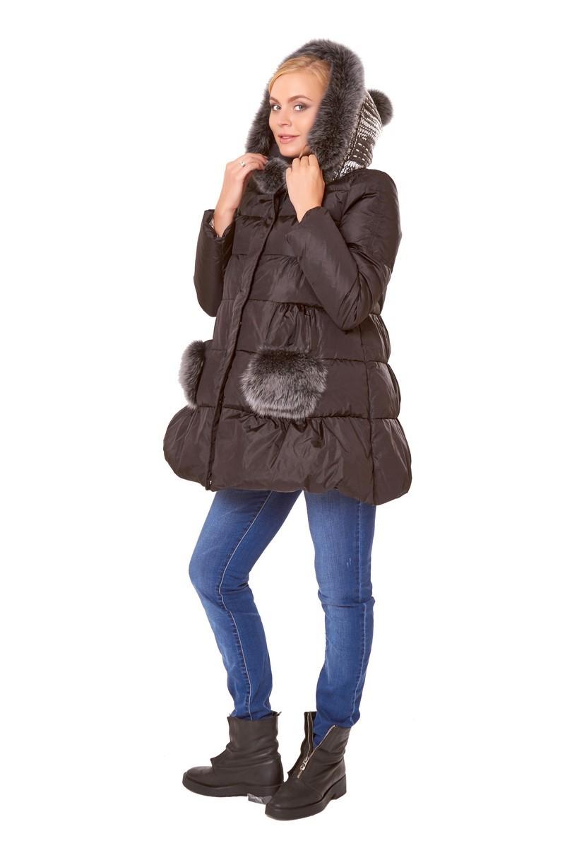 Куртка для беременных 05080 черный