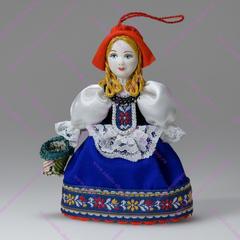 Малая подвесная кукла Красная шапочка