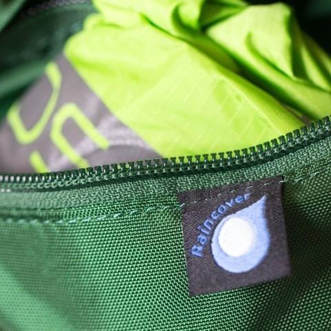 Картинка рюкзак туристический Osprey Kestrel 58 Jungle Green - 5