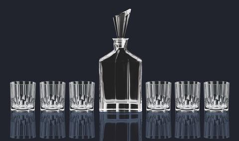 Набор 7 предметов Whisky Set 7, артикул 90025. Серия Aspen