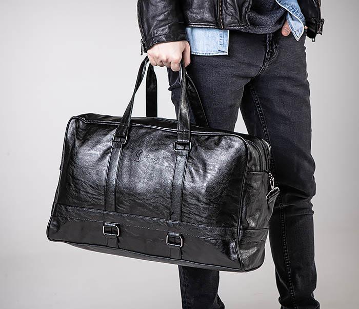 BAG549 Большая дорожная сумка из кожи