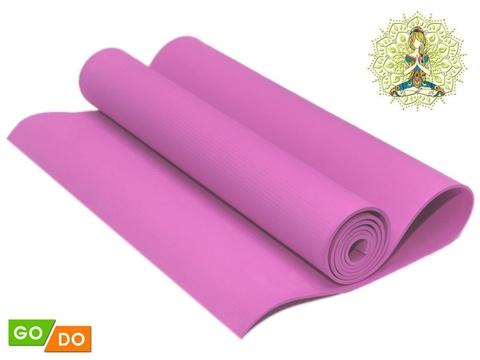 Коврик гимнастический. КВ6104  (Розовый)