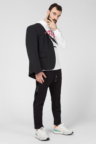 Мужские черные спортивные брюки P-RUSY-J Diesel