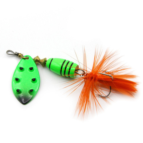 Блесна Extreme Fishing Total Obsession №2 7g 08-FluoGreen/FluoGr
