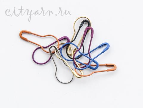 Маркеры для вязания разных цветов