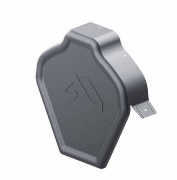 Заглушка конька плоская ZP-LUX Dmatt, BUDMAT
