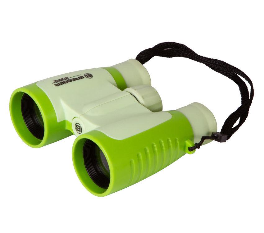 Бинокль детский Bresser Junior 3x30 зеленый - фото 1