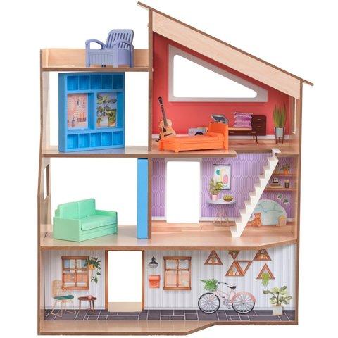 KidKraft Хазэл - кукольный домик с мебелью 65990_KE
