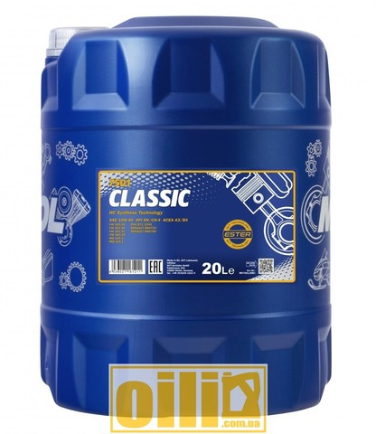 Mannol 7501 CLASSIC 10W-40 20л