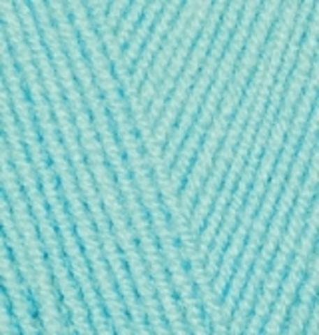 Пряжа Lanagold FINE Alize 462 Морская зелень