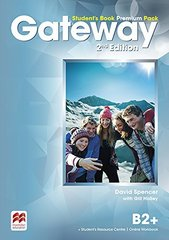 Gateway Second Edition  B2+ Student's Book Prem...