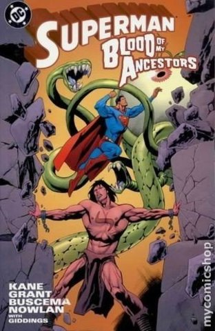 Superman Blood of the Ancestors TPB