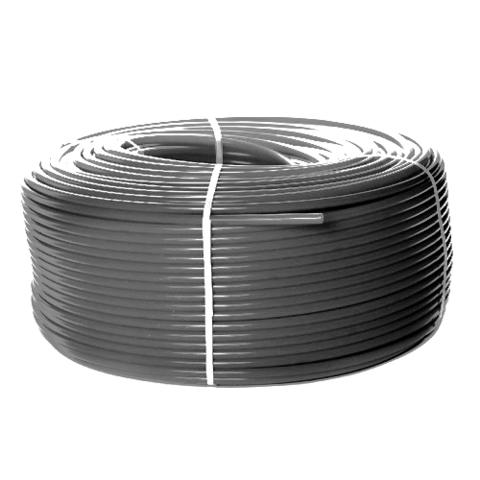 Труба из сшитого полиэтилена STOUT - 25x3.5 (PE-Xa/EVOH, PN10, Tmax 95°C,  бухта 50 м, цвет серый)