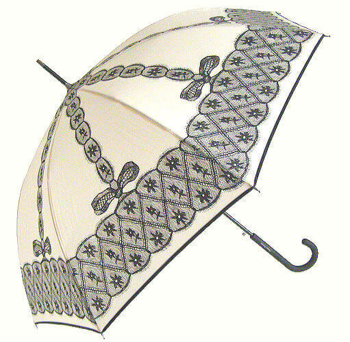 Зонт-трость Chantal Thomass 404-beg Bretelle