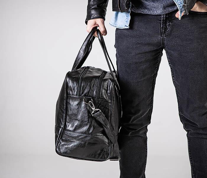 BAG549 Большая дорожная сумка из кожи фото 02