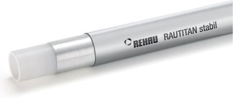 Rehau Rautitan Stabil 25х3.7 мм. труба универсальная (11301411050) в бухте 50 м - 1 м