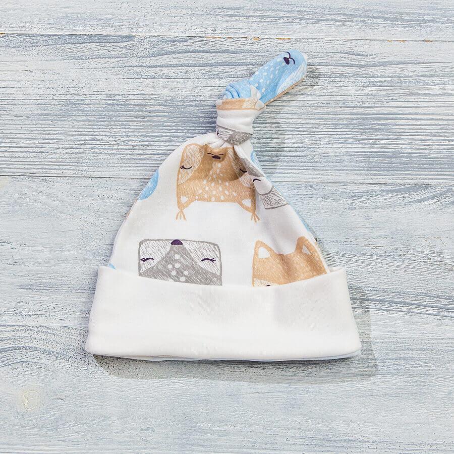 Шапочка для новорожденных