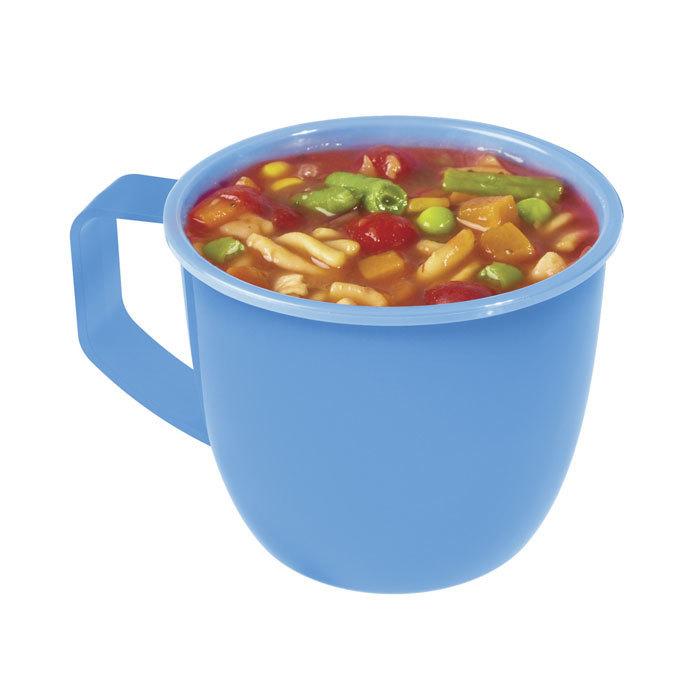 "Кружка суповая для СВЧ Sistema ""Microwave"" 900 мл, цвет Голубой"