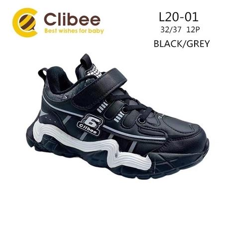 Clibee L20-01 Black/Grey 32-37