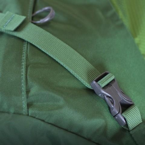 Картинка рюкзак туристический Osprey Kestrel 58 Jungle Green - 6