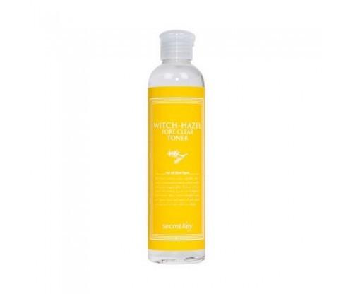 Очищающий поры тонер с экстрактом гамамелиса SECRET KEY WITCH-HAZEL PORE CLEAR TONER (248ml)