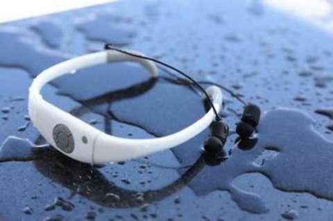 Aqua Pleer Music Sports Swimming Light IPX8 MP3 Плеер 8GB водонепроницаемый (белый)