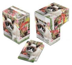 Ultra Pro - Grumpy Cat Flowers коробочка на 60 карт