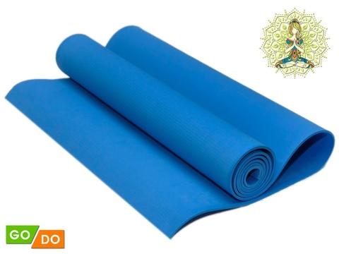 Коврик гимнастический. КВ6104  (Синий)
