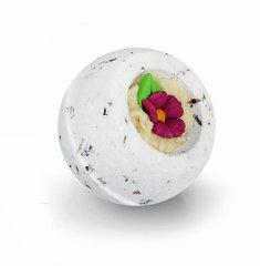 Десерт-шарик  для ванн комбинированный АРОМАТНАЯ ЛАВАНДА, серия