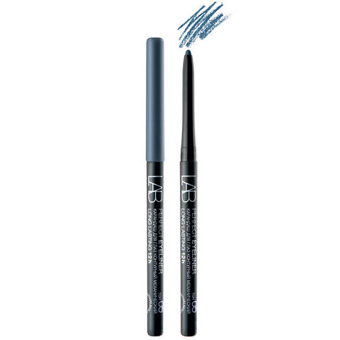 Карандаш для глаз LAB colour Perfect Eyeliner Long Lasting 12h контурный механический тон 05 бирюзово-синий , ( Белита )