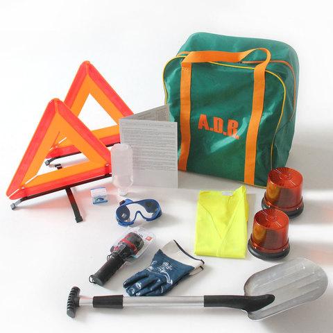 ADR комплект для опасных грузов, которым присвоены знаки опасности № 4.2, 5.1, 5.2, 6.2, 7 (по ДОПОГ и ТР ТС 018/2011)