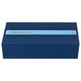 Перьевая ручка Waterman Edson Blue перо золото 18Ct F (S0102060)