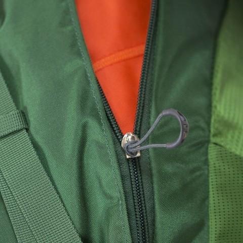 Картинка рюкзак туристический Osprey Kestrel 58 Jungle Green - 7