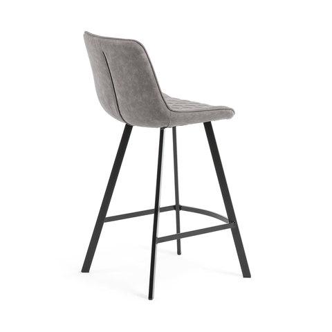 Полубарный стул Arian серый