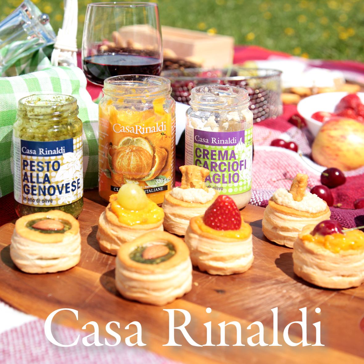 Соус Casa Rinaldi Песто Генуя в оливковом масле 130г