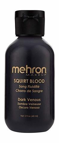 MEHRON Искусственная кровь для брызг Squirt Blood- Dark Venous 2 oz. (темная венозная), 60 мл