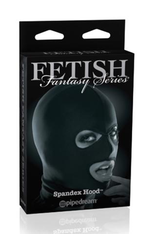 Черная маска на голову Spandex Hood