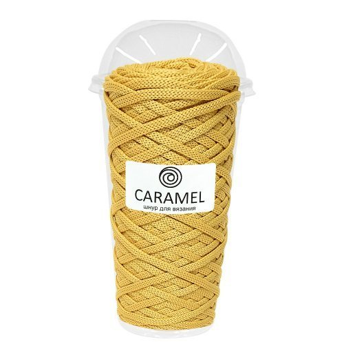 Плоский полиэфирный шнур Caramel Полиэфирный шнур Caramel Голд shnur-caramel-gold.jpg-500x500_1_.jpg