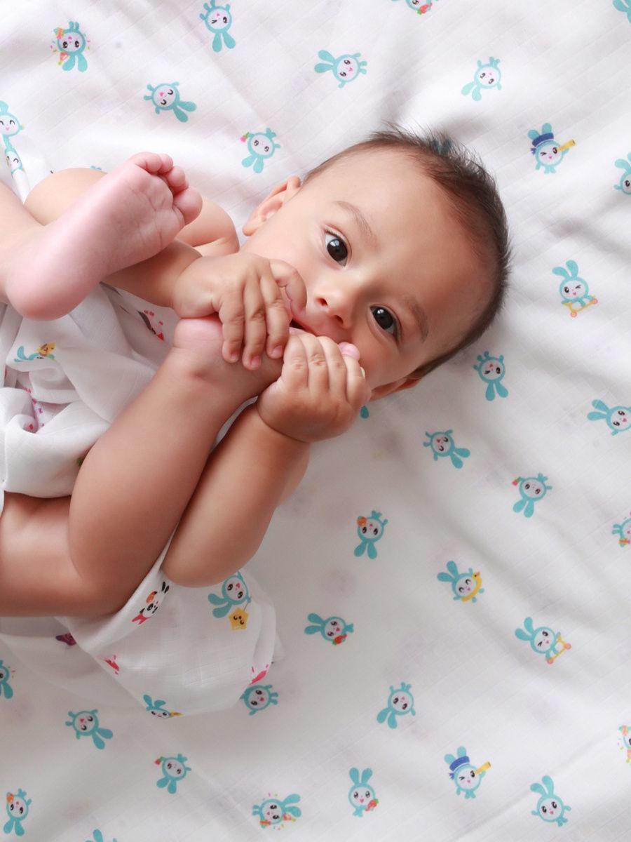 Adam Stork&Малышарики Крош, Бараш,Нюша,Ёжик,Пандочка имиджевое фото малыша