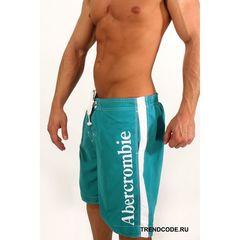 Мужские шорты пляжные бирюзовые ABERCROMBIE&FITCH 52812