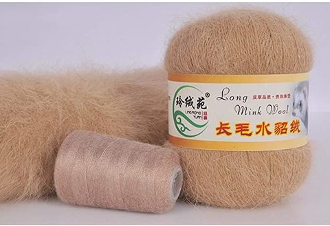 Long Mink Wool