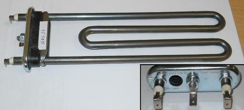 Тэн для стиральной машины Bosch (Бош)/Siemens (Сименс) 2000W -235мм уплотнитель без бортика, см. HTR011WH
