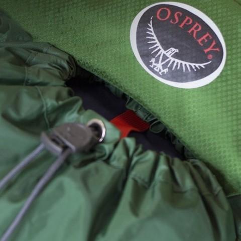 Картинка рюкзак туристический Osprey Kestrel 58 Jungle Green - 8