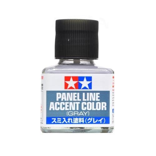 Tamiya Смывка Краска для финальной отделки модели Tamiya, Accent Color, Серая (Gray), смывка 40мл 87133.jpg