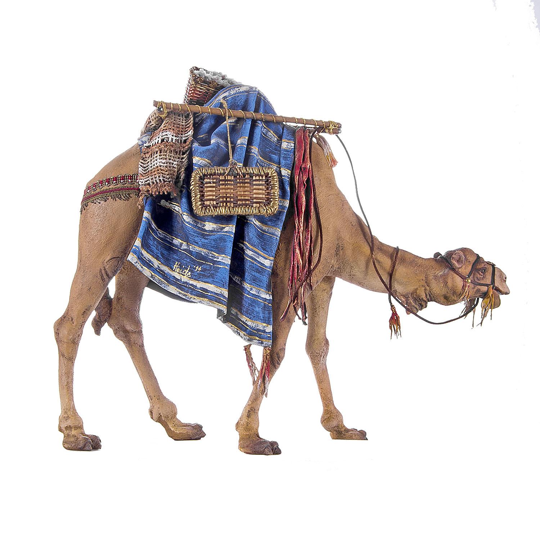 Верблюд Королевский в голубой попоне